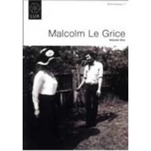 Afterimages 1 : Malcolm Le Grice Vol. 1