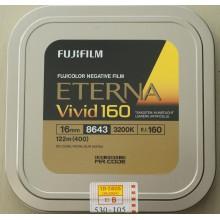Fujifilm 16mm film negative color Eterna Vivid 160