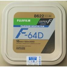 Fujifilm 16mm film negative color F-64D