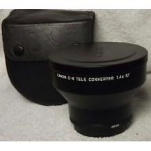 Canon C-8 teleconverter 1.4X 67 adaptateur objectif