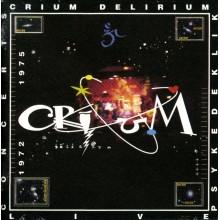 Crium Delirium Psykedeklik Live CD