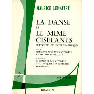 La Danse et Le Mime Ciselants / Livre