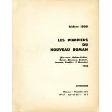 Les Pompiers du Nouveau Roman / Livret