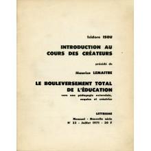 Introduction au Cours des Créateurs / Pamphlet
