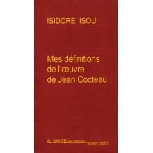 Mes définitions de l'oeuvre de Jean Cocteau / LIVRE