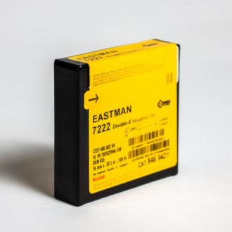 16mm Kodak DOUBLE-X Black & White Negative Film 7222