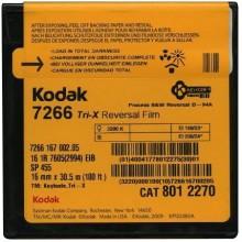 16mm Kodak Tri-X Black & White Negative Film 7266