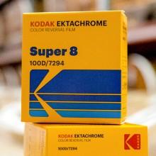 Ektachrome 100D Inversible Couleur super-8