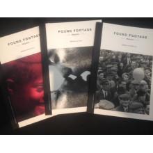 Pack 3 numéros 1-3 de Found Footage Magazine