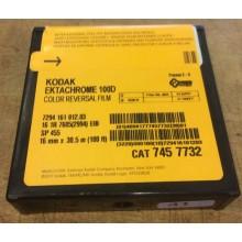 16mm Kodak Ektachrome Color Reversal 100D/7294