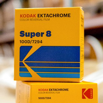 Ektachrome 100D Color Reversal super-8 film