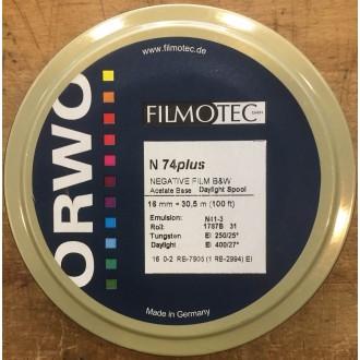 16mm ORWO black and white negative N74 Plus 400D