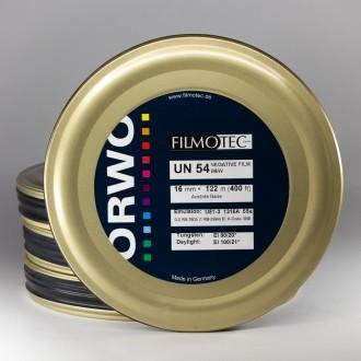 16mm ORWO black and white negative UN54 100D