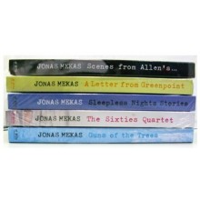 Pack 5 DVDs The works of JONAS MEKAS vol. 2