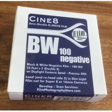 Double 8 Film - Cine8 b&w 100ASA