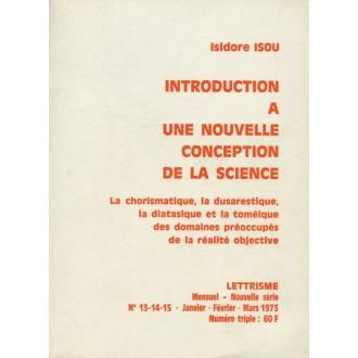 Introduction à une nouvelle conception de la science