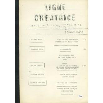 Ligne Créatrice 10-11-12