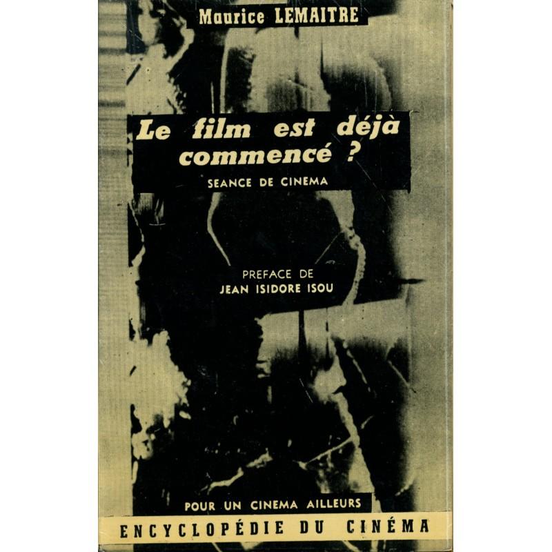 Image result for Maurice Lemaître: Le film est déjà commencé?