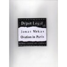 Dépôt légal n°6 Jonas Mekas : Ovation in Paris