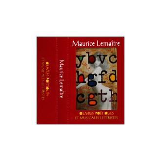 Oeuvres Poétiques et Musicales Lettristes (cassette audio)