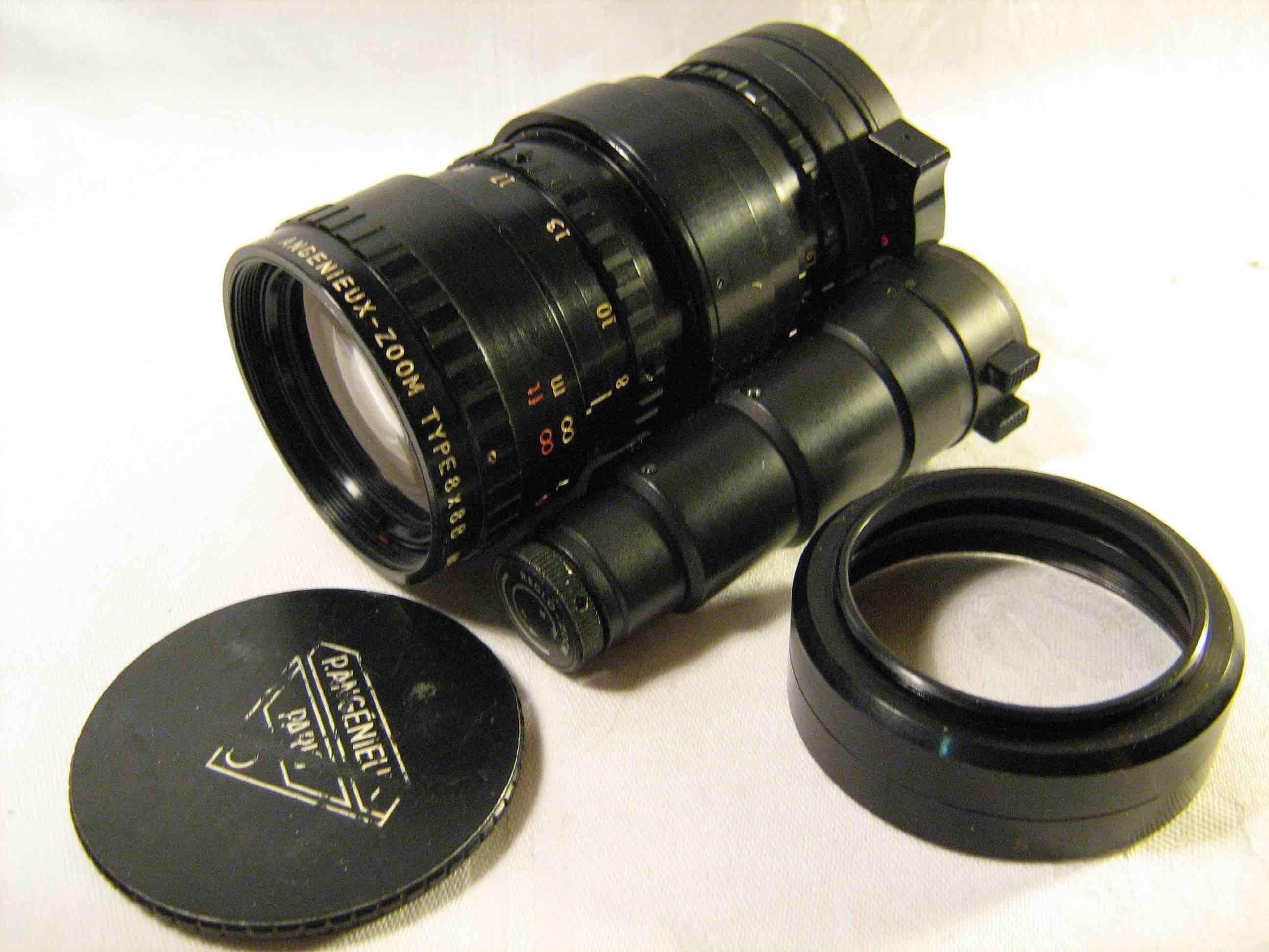 Angenieux f1.9, 8-64 mm lens