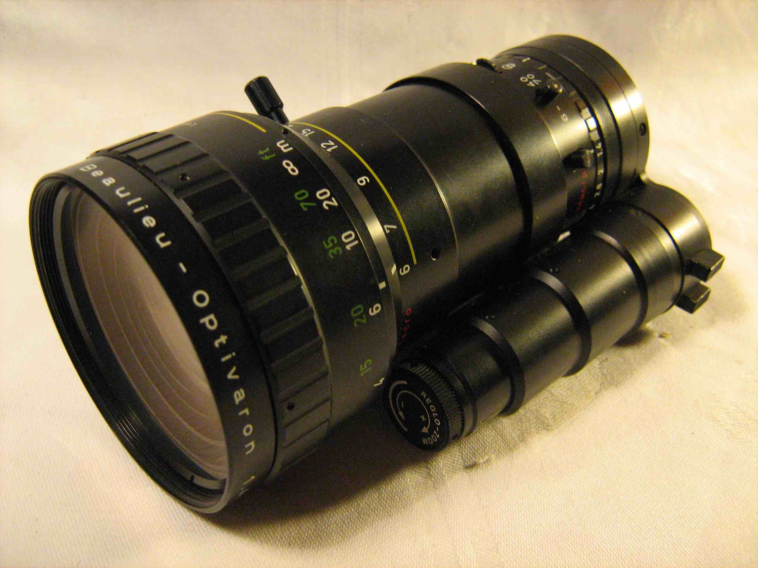 Schneider f1.4, 6-70 mm lens with integrated daylight filter